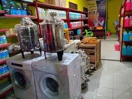 Setrika Uap Gas - Mesin Pengering Laundry Gas
