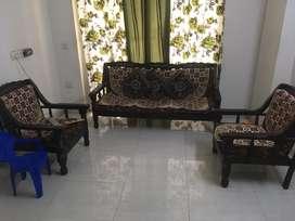 Wooden sofa good condition