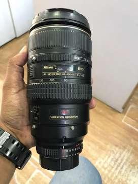 Nikon lens 80-400
