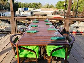 Cafe & Chai Session Outdoor tables And Chairs Aluminum