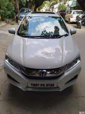 Honda City 1.5 V MT Sunroof, 2016, Diesel