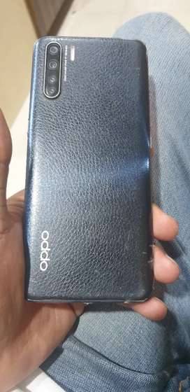 Oppo f15 128gb 8 gb brand new condition  7 month old nal charger