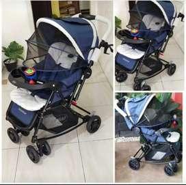 Dijual stroller Pliko Multifungsi