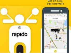 Rapido Urgently hiring delivery boys all over the city