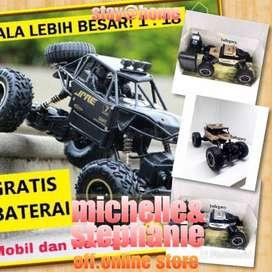 M&S RCJENISILVIA21 - 2020 Mainan Anak Mobil Remot Kontrol RC Car Rock