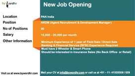 OnRoll Hiring   Insurance Agent Recruit Development Manager   Kanpur