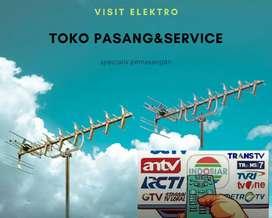 Teknisi jasa pasang sinyal antena tv lokal pondok cina depok