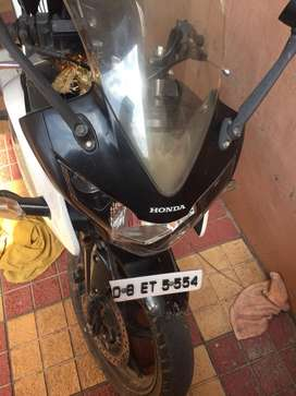 CBR 150r driven very less and maintained well,slightly negotiable