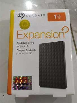 HD Seagate 1 Tera termurah, masih segel dan resmi