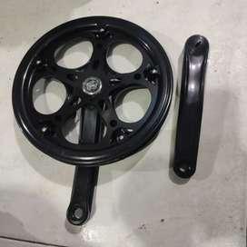 Gear Depan Sepeda / Single Crank 48T AS Kotak