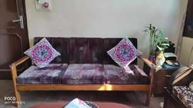 5 Seater Sofa (Teak wood)