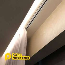 JASA DESAIN PEMBORONG KONTRAKTOR PLAFON GYBSUM PVC
