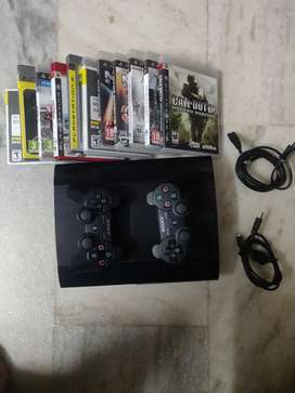 Ps3 playstation 3 232gb 2 controller exchange ps4 play station 3