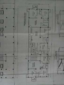 Three bhk flat at Ananda nagar,six mile
