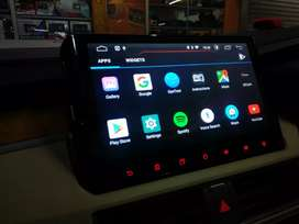 Head unit android xpander 10 inci plug and play
