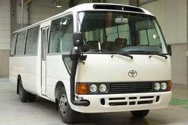Bus Van Coaster and Cars on Rent All Transport