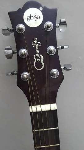 GB & a guitar
