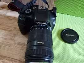 Jual boss kamera DSLR Canon Eos 50D Lensa EF-S 18-135 mm mantap
