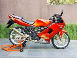 Jual Kawasaki Ninja RR 2007 Orange Like New