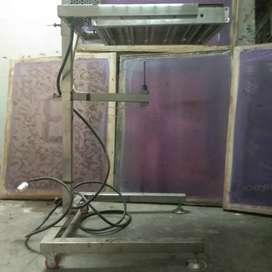 curing/pemanas sablon  rotary & meja panjang