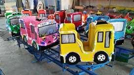 Wahana mini coaster odong kereta panggung RAA
