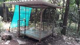 Dog cage aluva