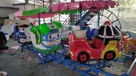 kereta panggung mini odong full fiber heli komedi putar asli pabrik 11