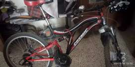 Cosmic 21 gears bicycle with 2 dis brakes with Matt finish