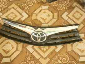 Toyota corolla 2016 front show headlights grill bumper