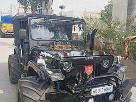 Willy jeep Modified by BOMBAY JEEPS AMBALA City Haryana, Open jeep
