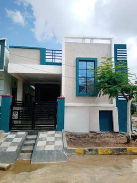 130 sq yard indp house in gated community near by ecil @ 55 lahks