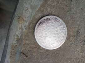 Silver coin in 1888