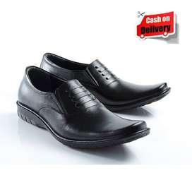 Sepatu Pantofel Pria Millenial Kulit Sapi Asli SP 5106
