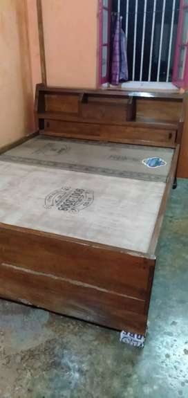 Double bed(box) (price negotiable)