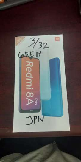 xiaomi redmi 8a pro 3/32 garansi resmi diJapanese Phone