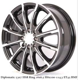 DIPLOMATIC JD5307 HSR R15X6 H8X100-114,3 ET45 BMF