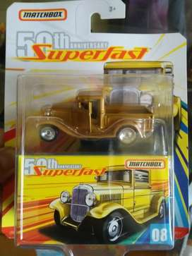 Matchbox 32 Ford Pickup Superfast 50th Unniversary