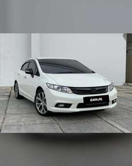 Honda Civic 2.0 AT White 2013! RARE!!