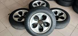 Velg racing mobil rubicon murah ring 15 hole 5x127 et -13 velg aja ya