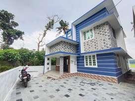 Kalathode New villa 3bhk 1550SqFt near Thrissur