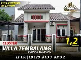 Rimah Ready 1 Lantai di Villa Tembalang Mewah Murah