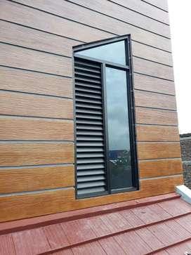 Jendela unik modern tidak ada yang menyamai boven kaca pintu kusen