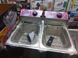 Imported commercial Electric Dual deep fryer