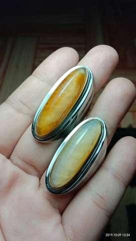 Batu cincin pandan nanas sisik rapih