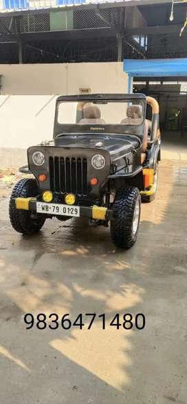 willys Jeep cj3b 4x4 (mahindra) 1972 Diesel Well Maintained