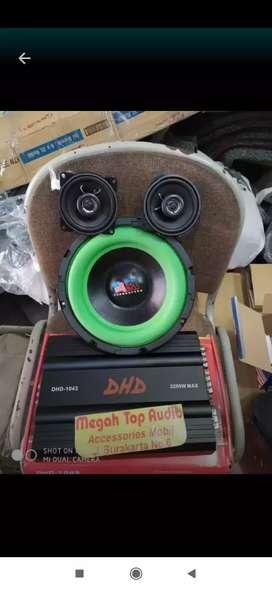 Paket sound utk 4 inch
