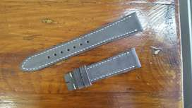 Leather Strap Handmade (Grey) Vintage
