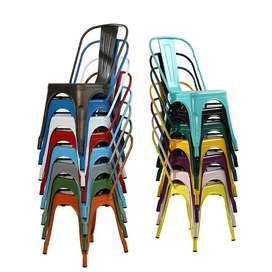 Cafe Dining Chair Modern n Simple Metal