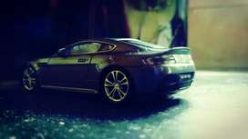 Diecast Model cars (1:43 Welly..Audi A4 and Aston Martin Vantage)