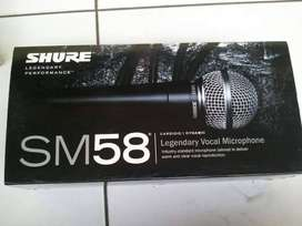 Shure SM 58 Mic Kabel audio utk karaoke studio recording dll
